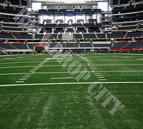 Football End Zone Computer Printed Backdrop - Backdrop City