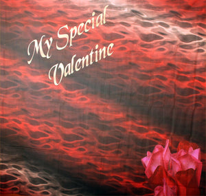 Valentine 4 (Animal Print Design) Computer Printed Backdrop - Backdrop City