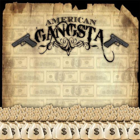 American Gangsta Digital Image File - Backdrop City