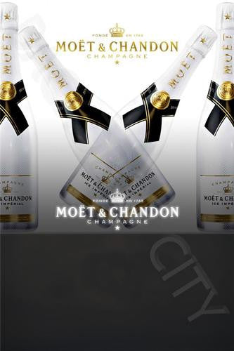 Moet White Party 2-3 Digital Image File - Backdrop City