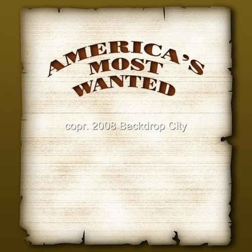 America's Most Wanted Digital Image File - Backdrop City