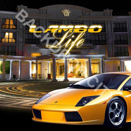 Versace & Lambo Digital Image File - Backdrop City