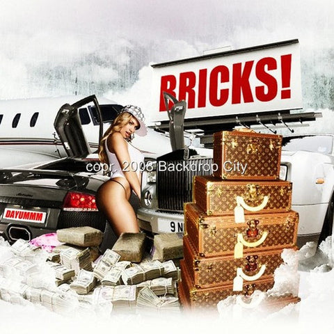 Bricks Digital Image File - Backdrop City