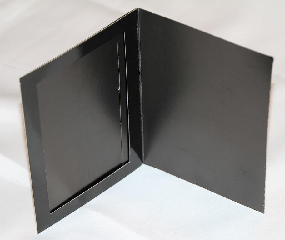 BLACK CARDBOARD PICTURE FRAMES - Backdrop City