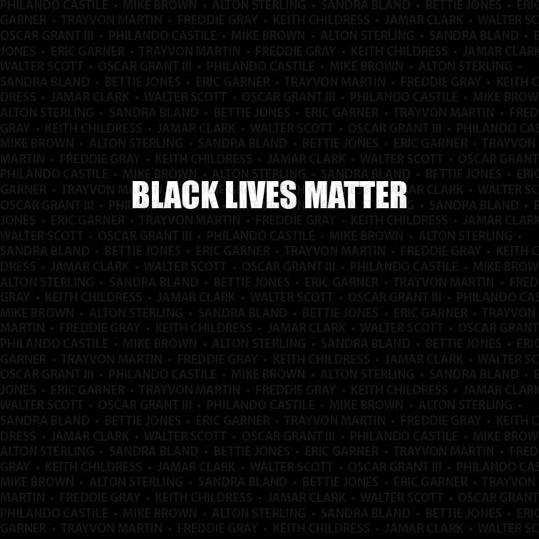 Black Lives Matter Computer Printed Backdrop - Backdrop City