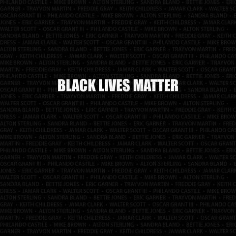 Black Lives Matter Computer Printed Backdrop