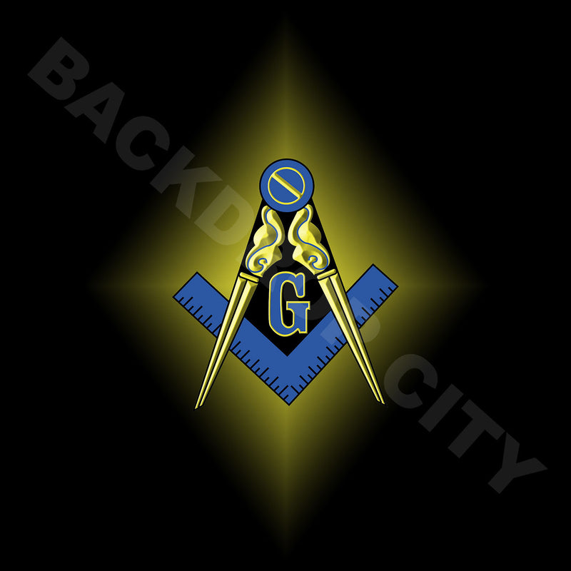 Masonic Computer Printed Backdrop - Backdrop City