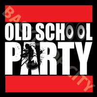 Old School Party Digital Image