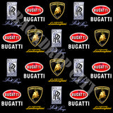RR, Bugatti & Lambo Black Wall Clearance