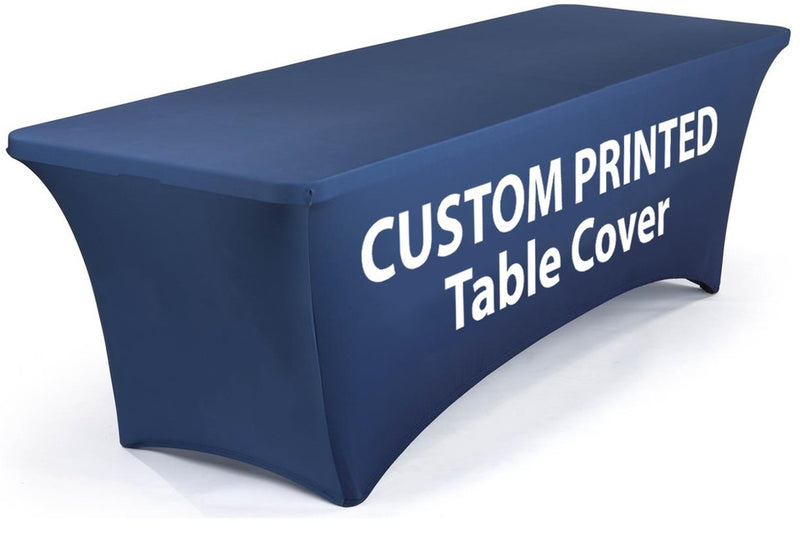 Fabric Exhibition Table Covers