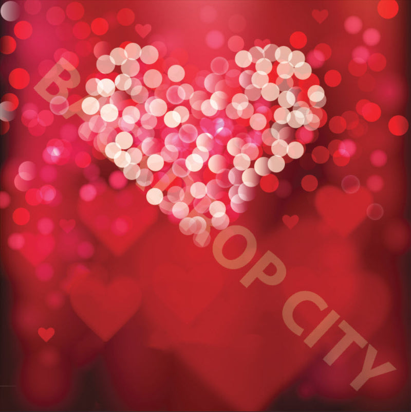 Valentine Bokeh Backdrop