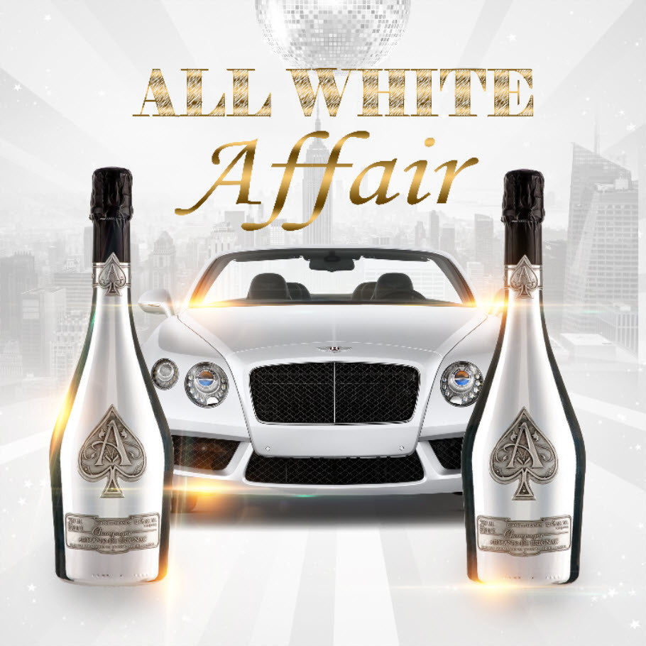 All White Affair Digital Image