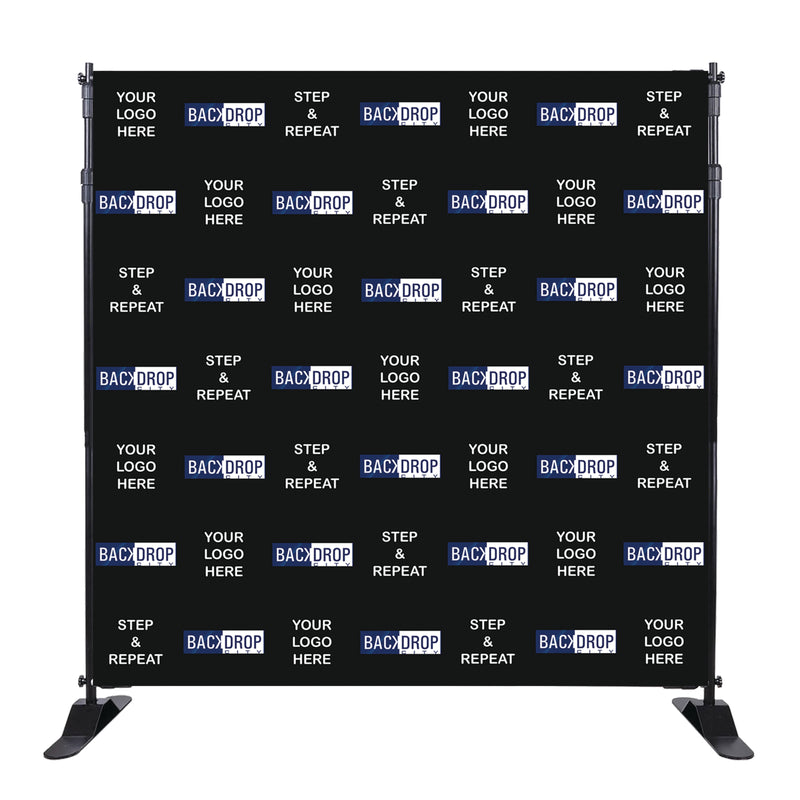 Custom Step and Repeat Backdrop