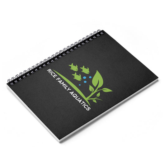 Spiral Notebook - Ruled Line - Rice Family Aquatics