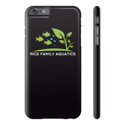 Slim Iphone 6/6s Plus- Black - Rice Family Aquatics