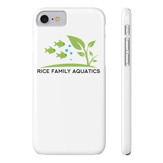 Slim iPhone 7- White - Rice Family Aquatics