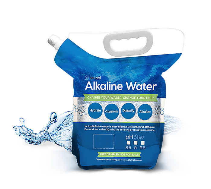 Alkaline Water Sharing Bags