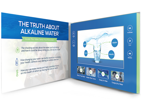 Alkaline Water Video Books