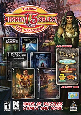 Hidden Object & Time Management - 15 Game Pack Collection