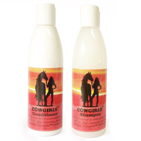 Cowgirls Shampoo & Conditioner Combo
