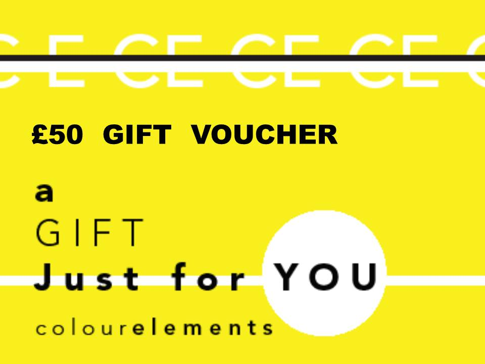 £50 Colour Elements gift voucher