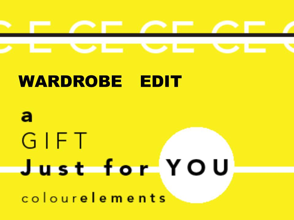 Colour Elements Wardrobe Edit gift voucher