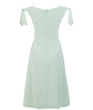 • ROME DRESS • PALE GREEN