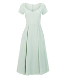 • LONDON DRESS • PALE GREEN