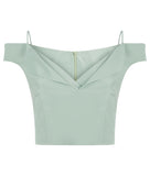 • ROME TOP PALE GREEN •