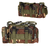 Outdoor Military Tactical Waist Pack 3L Waterproof Oxford Molle Camping Hiking Pouch Backpack Bag Portable Waist Bag