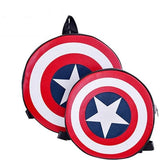 Custom Leather Captain America Backpacks - His & Her!
