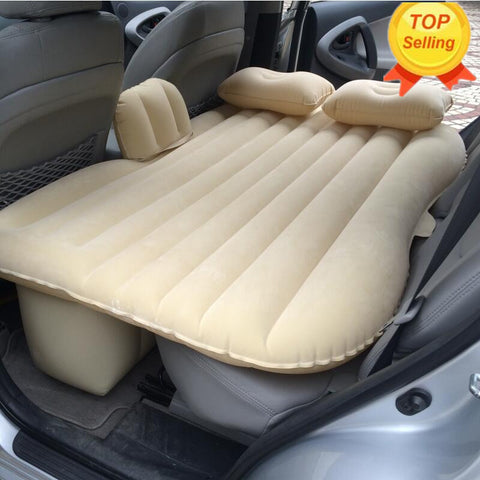 Custom Inflatable Car Air Mattress For Camping, Travel, Kids, Back Seat Good Times & More!