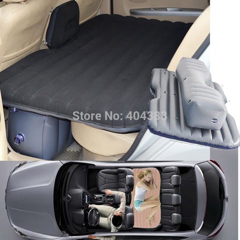 Custom Portable Inflatable Car Air Mattress For Camping, Relaxing, Travel, Kids, Back Seat Good Times and More!