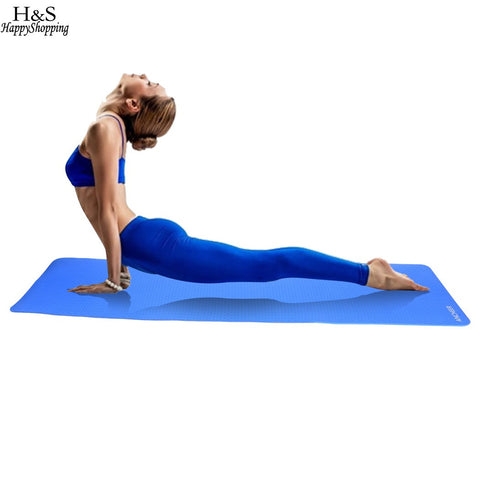 ANCHEER 8mm Thick Yoga Mat Pad Non-Slip Lose Weight Exercise Fitness Indoor Multicolor Mat Drop Shipping