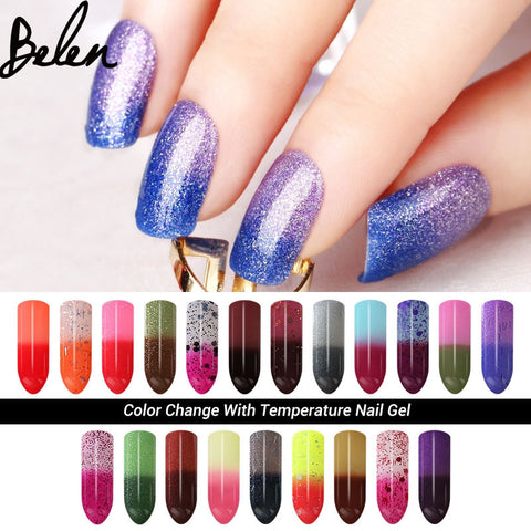 Chameleon Temperature Change Nail Polish