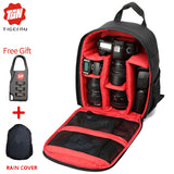 2017 Digital DSLR Camera Bag Waterproof - Camera Partitions Backpack