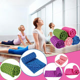 "72""x 24"" Microfiber Washable Thick Pilates -  Hot Yoga - Inddor/Outdoor Towel & Carry Bag"