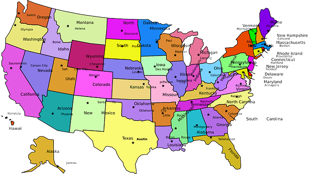How to Teach Your Kids the USA States and Capitals