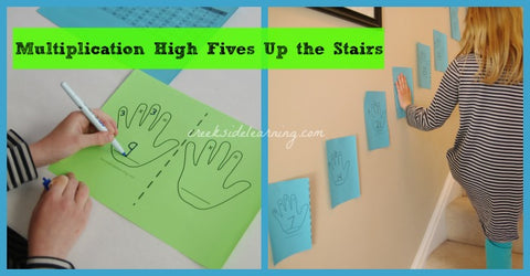 Multiplication Games up the stairs