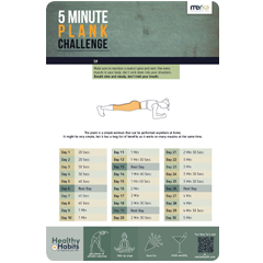 plank core abs challenge