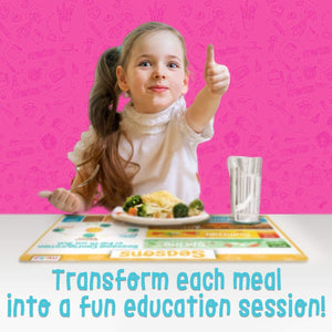 Educational Placemats - Time Set