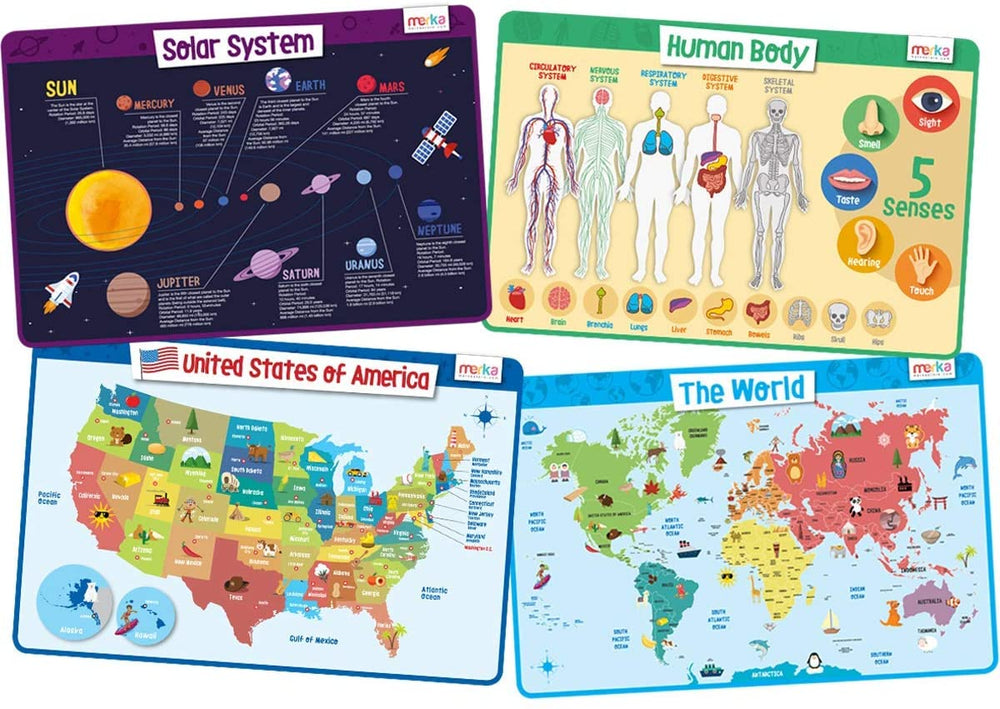 Educational Placemats - Explorer Set