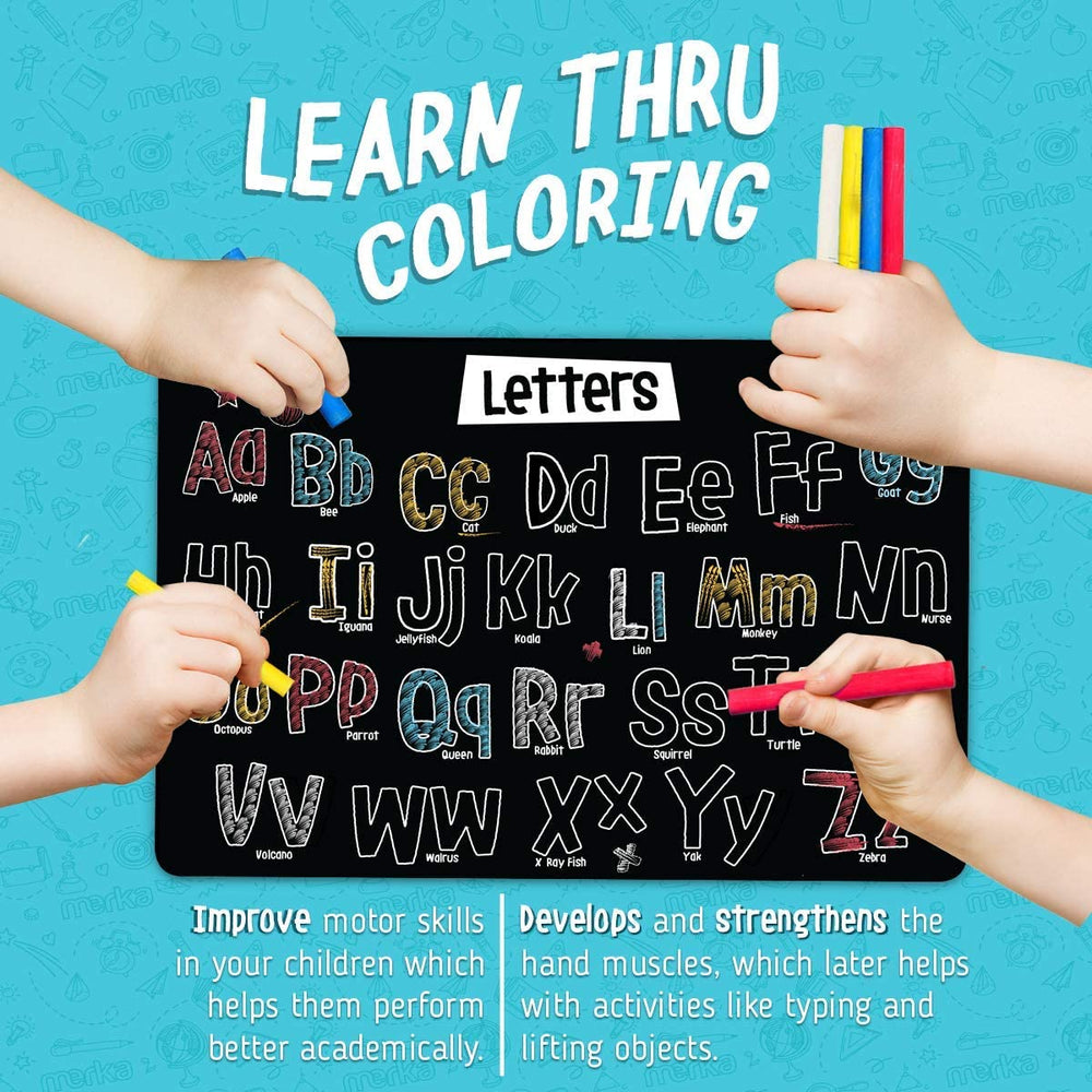 Chalkboard Placemats - Alphabet Set