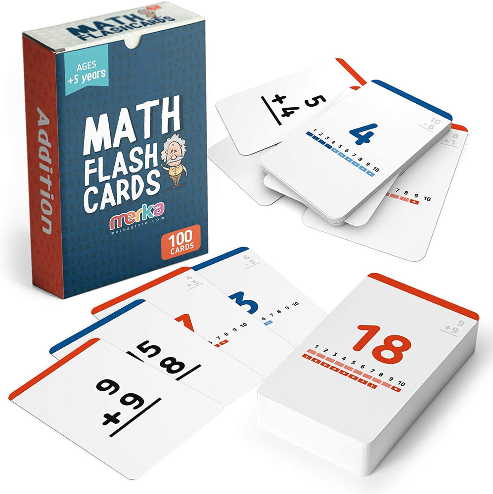 merka Math Flash Cards - Addition Subtraction