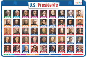 Educational Placemat - US Presidents