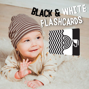 Load image into Gallery viewer, Educational Flashcards - Baby Black & White Set