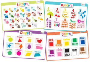 Educational Placemats - Toddlers Set