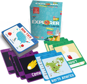Educational Flashcards - Explorer