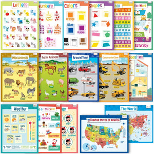 Educational Posters - Kindergarten Set