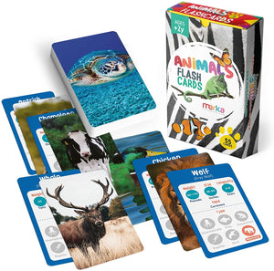 Load image into Gallery viewer, Educational Flashcards - Animals Set